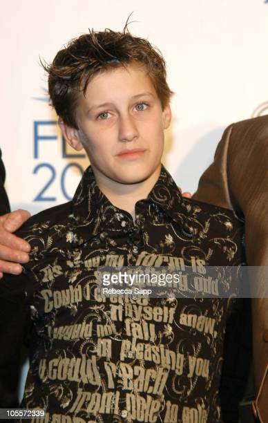 JeanBaptiste Maunier during AFI FEST 2004 Presented by Audi 'The Chorus' After Party at Archlight Theatre in Hollywood California United States