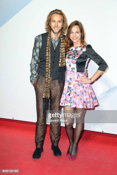 JeanBaptiste Sagory and Marion Huguenin attend Closing Ceremony during 19th Festival of TV Fiction at La Rochelle on September 16 2017 in La Rochelle...