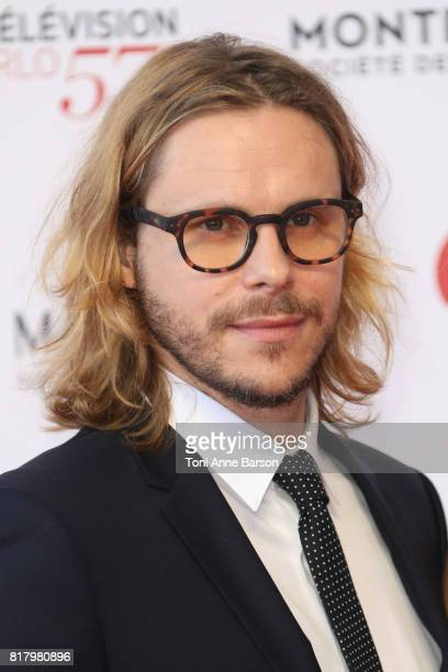 JeanBaptiste Shelmerdine arrives at the Opening Ceremony of the 57th Monte Carlo TV Festival and World premier of Absentia Serie on June 16 2017 in...