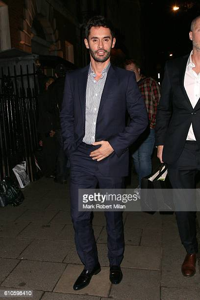 JeanBernard FernandezVersini at Annabel's club on September 26 2016 in London England
