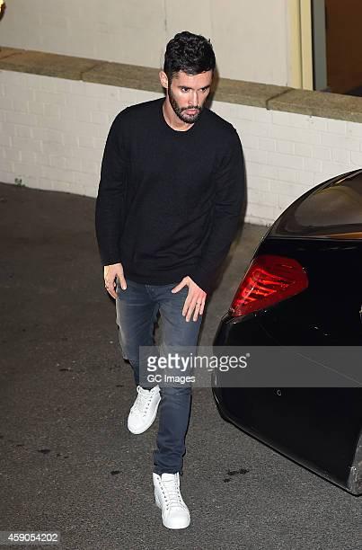 JeanBernard FernandezVersini leaves the X Factor sudios in Wembley on November 15 2014 in London England