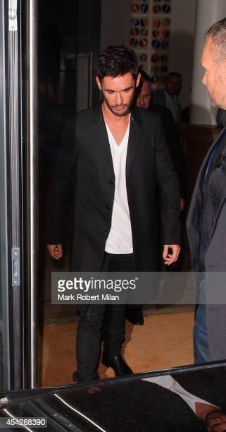 JeanBernard FernandezVersini leaving the Ham Yard hotel on August 27 2014 in London England
