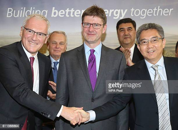 JeanBernard Levy chairman of EDF Group French Foreign Minister JeanMarc Ayrault Greg Clark Secretary of State for Business Chinese Energy Minister...