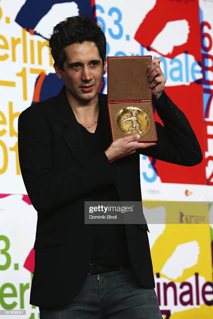 Jean-Bernard Marlin attends the Award Winners Press Conference during the 63rd Berlinale International Film Festival at Grand Hyatt Hotel on February 14, 2013 in Berlin, Germany.