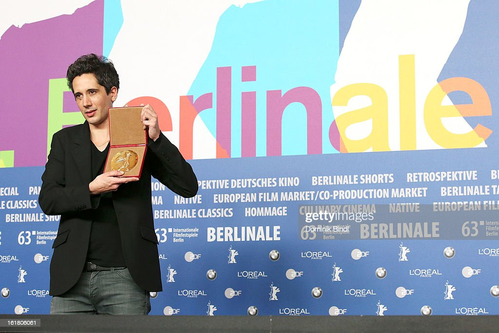 Jean-Bernard Marlin attends the Award Winners Press Conference during the 63rd Berlinale International Film Festival at Grand Hyatt Hotel on February 14, 2013 in Berlin, Germany.
