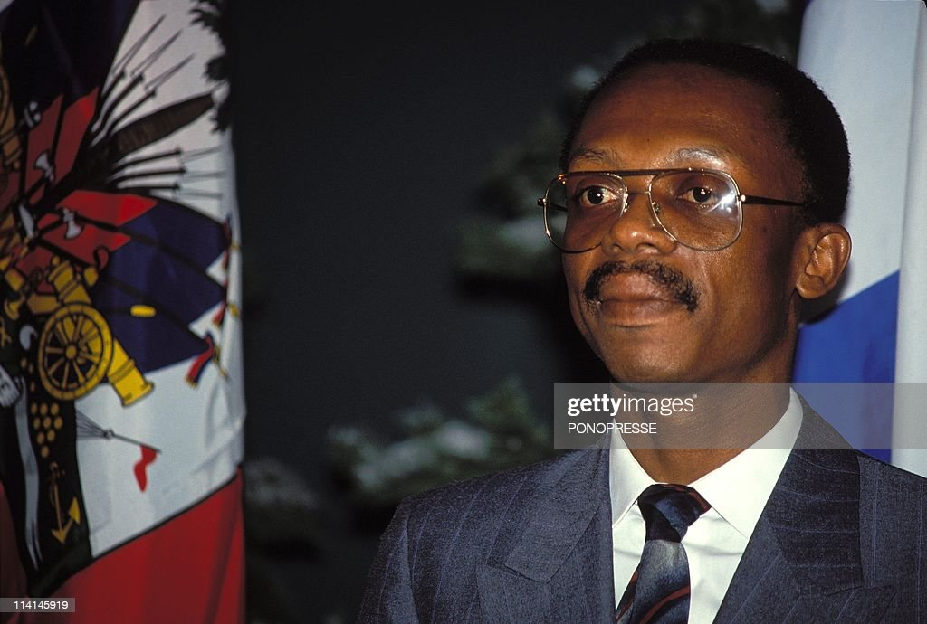 JeanBertrand Aristide In Canada On December 12 1991