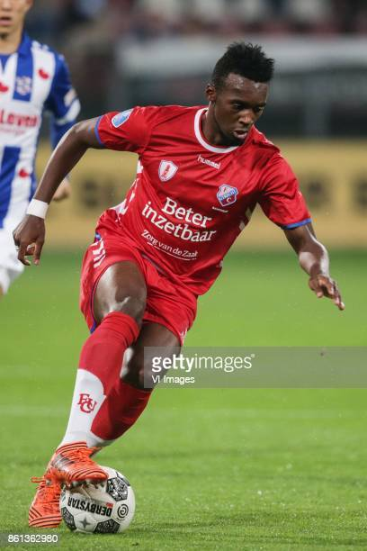 JeanChristophe Bahebeck of FC Utrecht during the Dutch Eredivisie match between FC Utrecht and sc Heerenveen at the Galgenwaard Stadium on October 14...