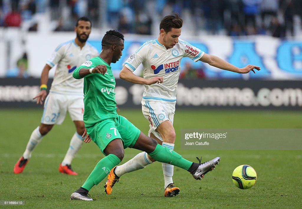 olympique de marseille v as saint-etienne