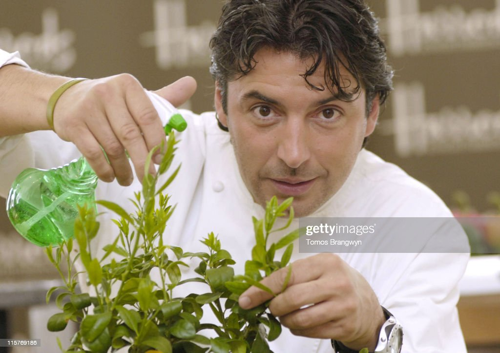 Jean-Christophe Novelli Launches His Range of Edible Gardens at Harrods