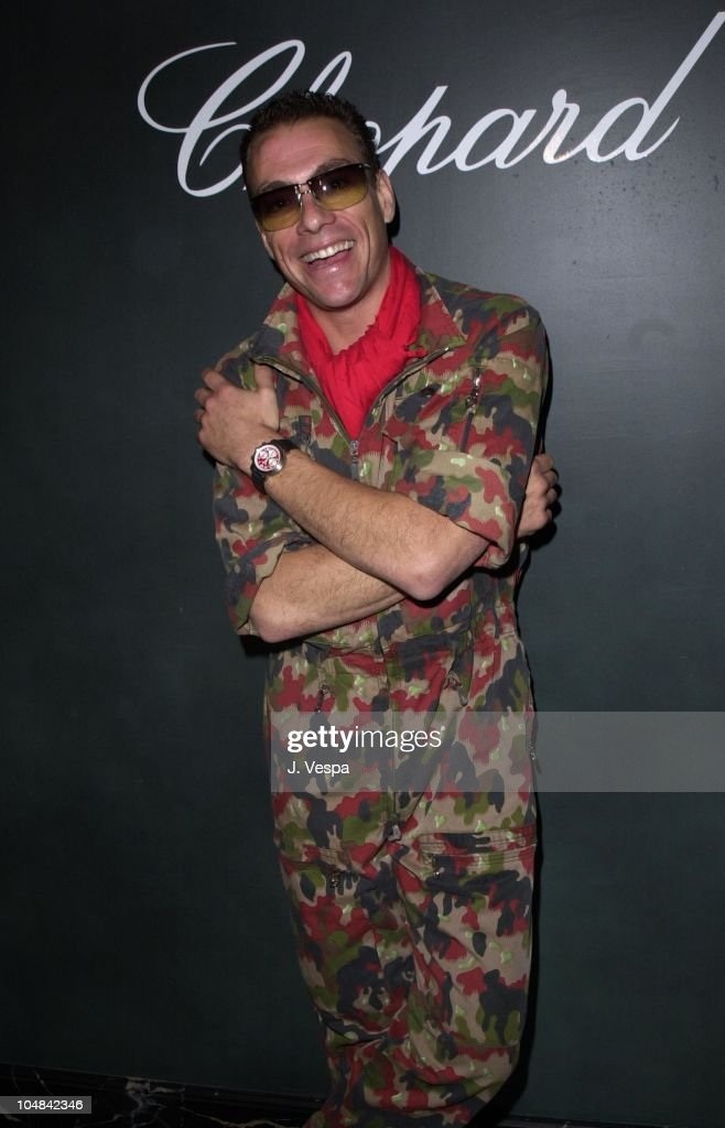 Cannes 2001 - Chopard Party for Jean-Claude Van Damme
