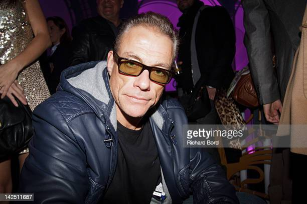 JeanClaude Van Damme attends the Radio FG 20th Anniversary Celebration at Le Grand Palais on April 5 2012 in Paris France