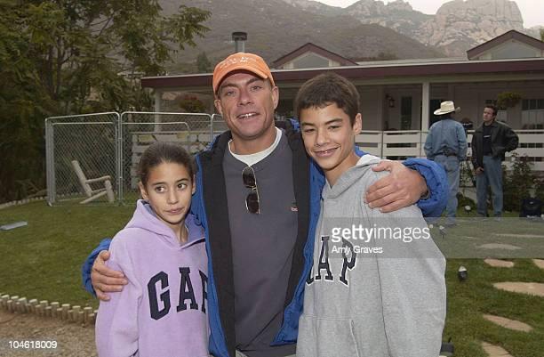 JeanClaude Van Damme daughter Bianca and son Kristopher