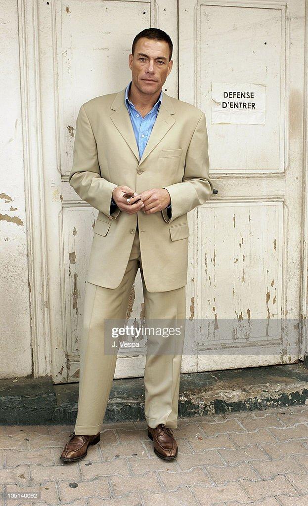 2003 Cannes Film Festival -  Jean Claude Van Dam Portraits