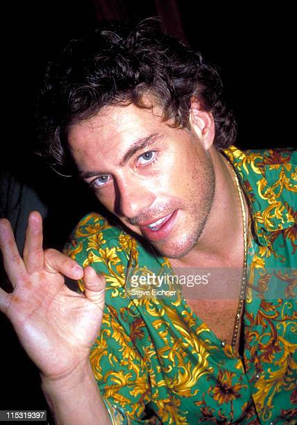 JeanClaude Van Damme during JeanClaude Van Damme at Club USA 1993 at Club USA in New York City New York United States