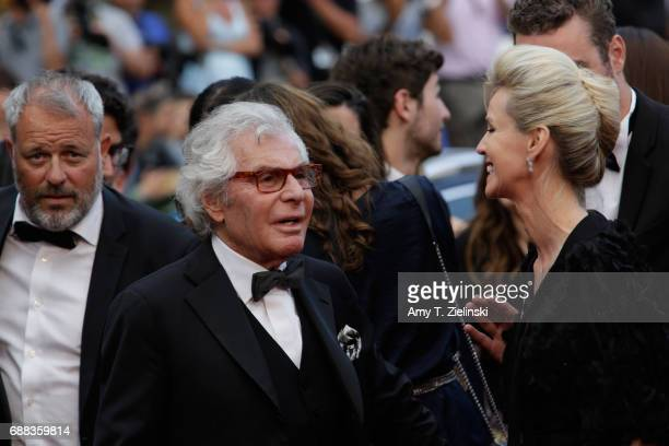 JeanDaniel Lorieux and guest attends the 'Twin Peaks' screening during the 70th annual Cannes Film Festival at Palais des Festivals on May 25 2017 in...
