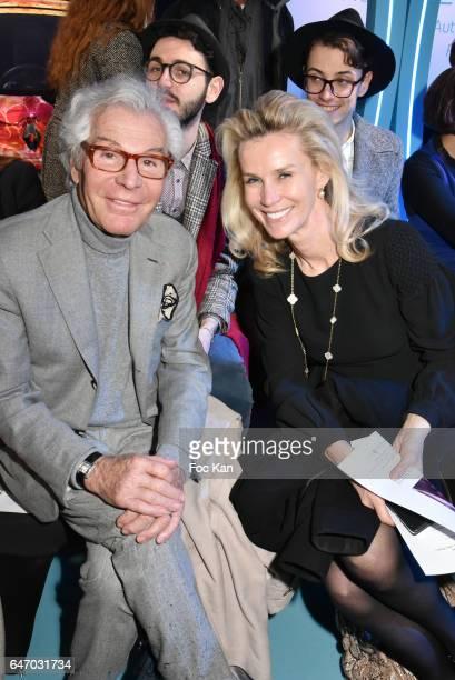JeanDaniel LorieuxÊand Laura Restelli attend the Christophe Guillarme show as part of the Paris Fashion Week Womenswear Fall/Winter 2017/2018 on...
