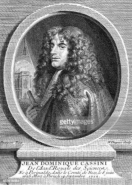 JeanDominique Cassini Italianborn French astronomer 1777 In the background is the Paris Observatory which Cassini became the first director of in...