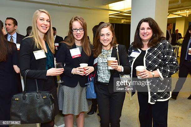 Jeanette Abate Laura Murphy Brianna Chennell and Barbara Shachnow attend The Commercial Observer Financing Commercial Real Estate at 666 Fifth Avenue...