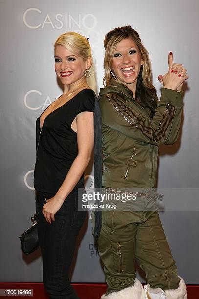 Jeanette Biedermann And Gülcan Karahanci In Germany at Premiere Of 'Casino Royale' in Cinestar Potsdamer Platz Berlin