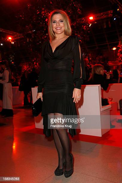 Jeanette Biedermann attends the 18th Annual Jose Carreras Gala on December 13 2012 in Leipzig Germany