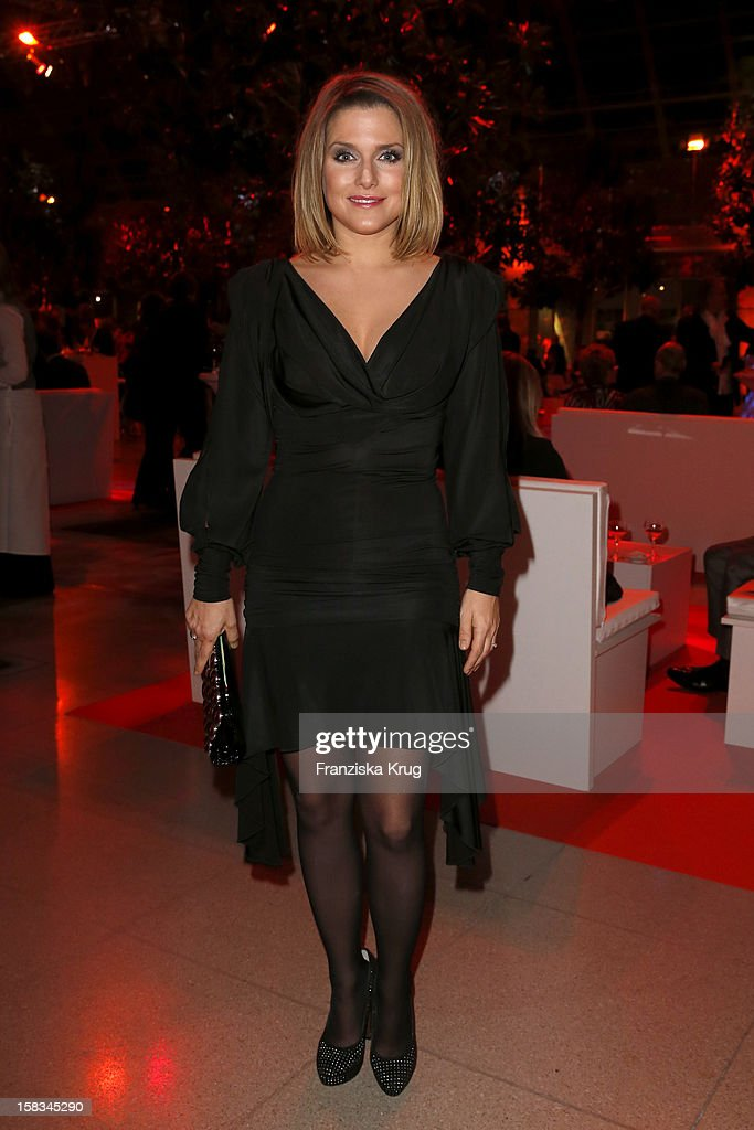 Jeanette Biedermann attends the 18th Annual Jose Carreras Gala on December 13, 2012 in Leipzig, Germany.
