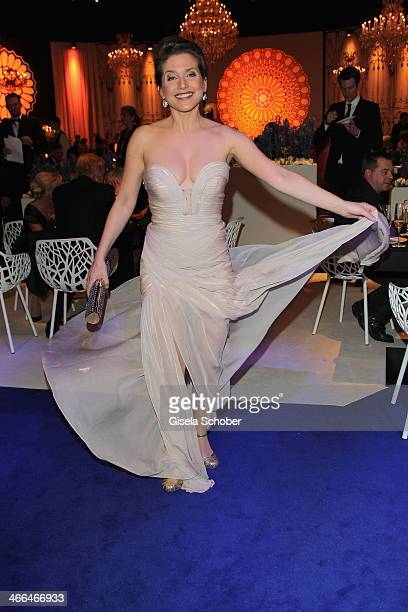 Jeanette Biedermann attends the after show party of Goldene Kamera 2014 Hangar 7 at Tempelhof Airport on February 1 2014 in Berlin Germany