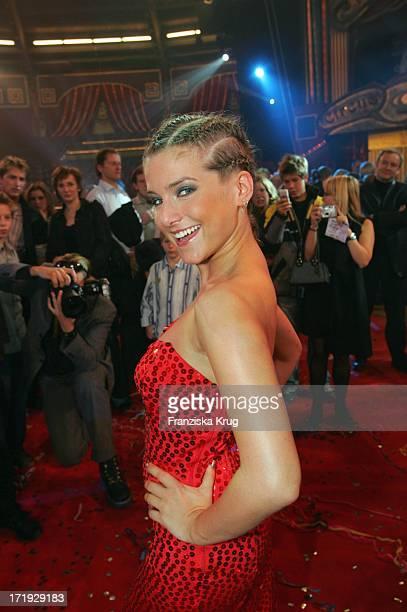 Jeanette Biedermann Bei Der Generalprobe Zu 'Stars In Der Manege' Im Circus Krone In München