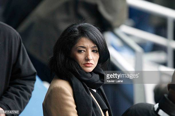 Jeanette Bougrab attends the RBS Six Nations Tournament between France and England at Stade de France on March 11 2012 in Paris France