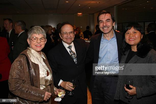 Jeanette Gould Norman Gould Simon Lazowsky and Huei Lazowsky attend A Centennial Celebration for Harold Arlen at The Museum of Television and Radio...