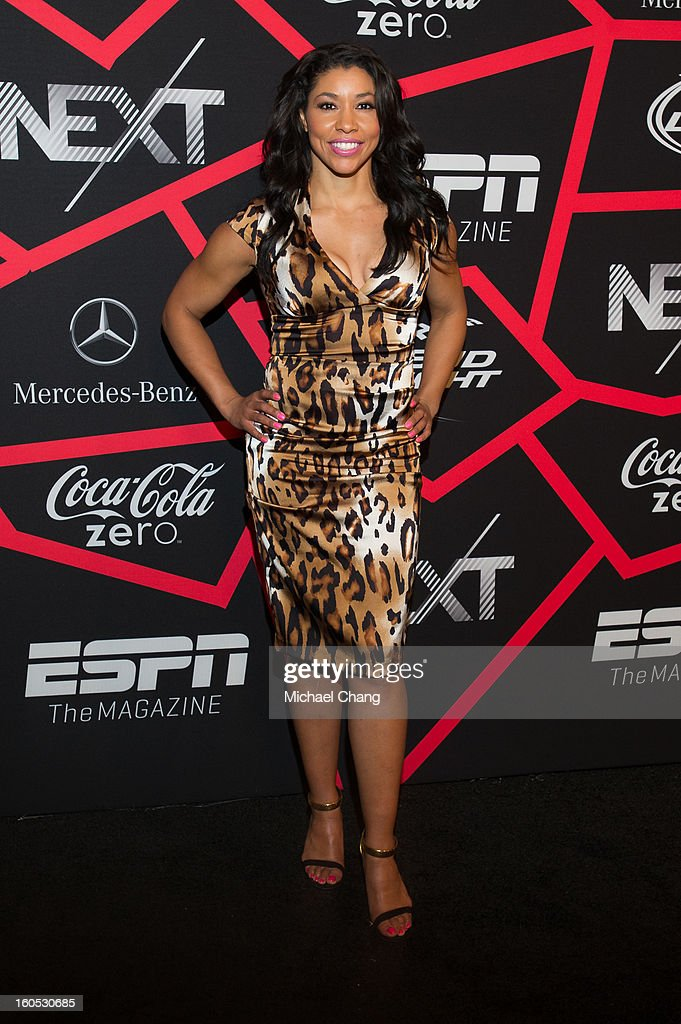 Jeanette Jenkins attends ESPN The Magazine's 'Next' Event at Tad Gormley Stadium on February 1, 2013 in New Orleans, Louisiana.