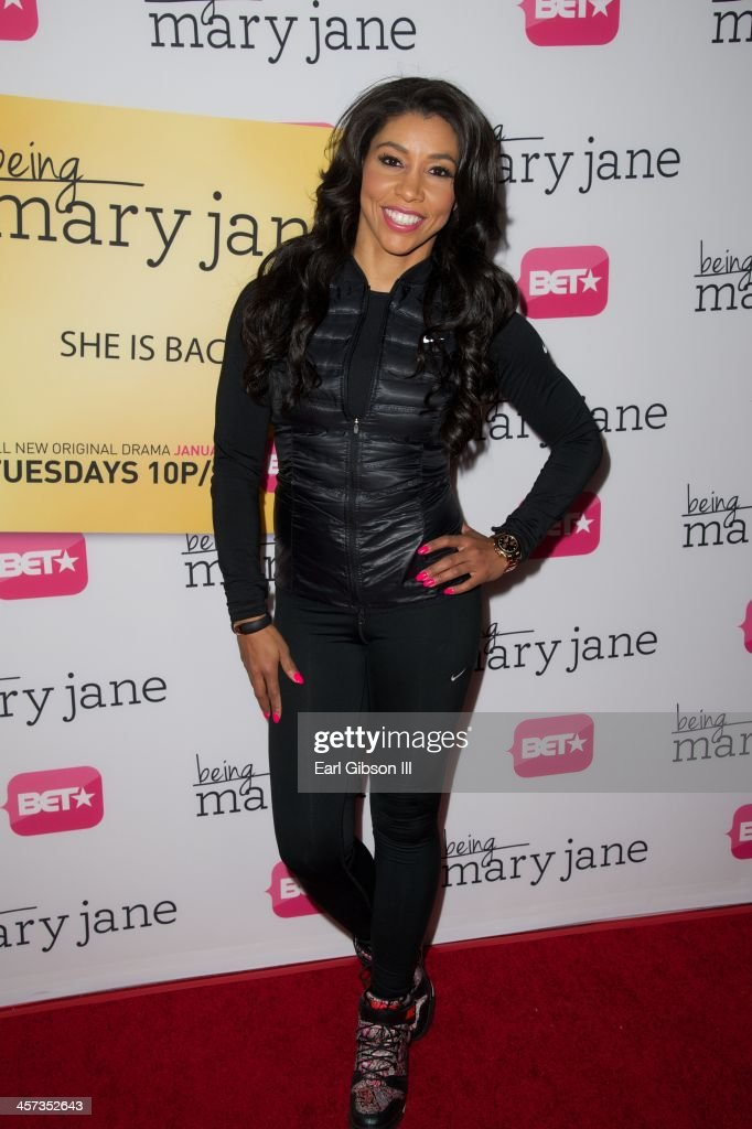 Jeanette Jenkins attends the 'Being Mary Jane' Los Angeles Premiere on December 16, 2013 in Los Angeles, California.