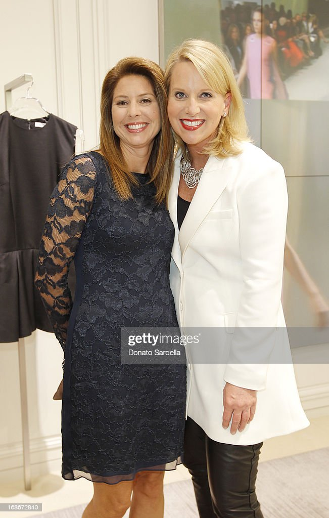 Jeanette Kumamoto and Susan Franklin attend Dior celebrates the opening of Dior Couture Patrick Demarchelier Exhibition at the Dior store at South Coast Plaza May 10, 2013 in Costa Mesa, California.