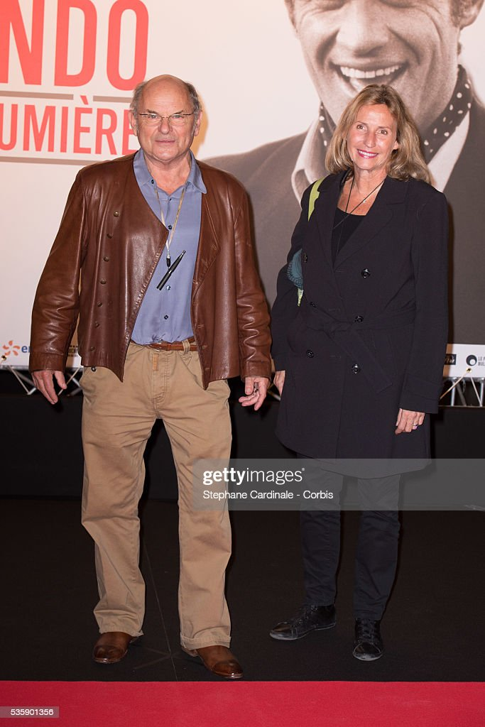 Jean-Francois Stevenin and his Wife attend the Tribute to Jean Paul Belmondo and Opening Ceremony of the Fifth Lumiere Film Festival, in Lyon.