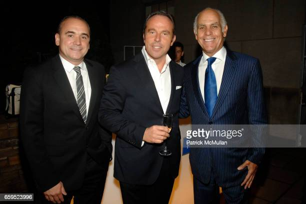JeanGeorge Vongerichten JeanLuc Naret and Phil Suarez attend 5th Anniversary Celebration of the MICHELIN GUIDE New York City at 620 Fifth Avenue on...