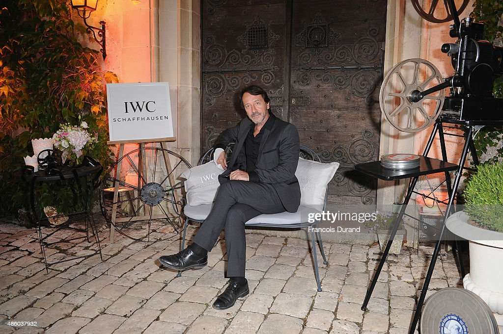 Jean-Hugues Anglade attends the closing dinner hosted by IWC during the Festival du Film Francophone d'Angouleme on August 30, Angouleme, France.