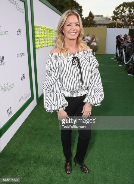 Jeanie Buss at Fox Searchlight's 'Battle of the Sexes' Los Angeles Premiere on September 16 2017 in Westwood California