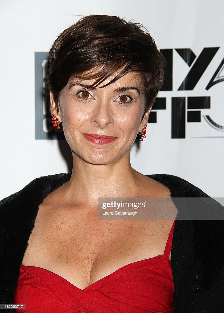 Jeanine Serralles attends the 'Inside Lleywn Davis' permiere during the 51st New York Film Festival at Alice Tully Hall at Lincoln Center on September 28, 2013 in New York City.