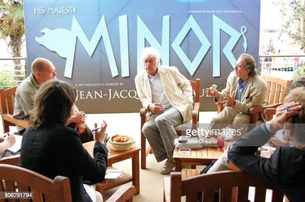 JeanJacques Annaud director during 2006 Cannes Film Festival 'His Majesty Minor' Press Conference at The Riviera in Cannes France