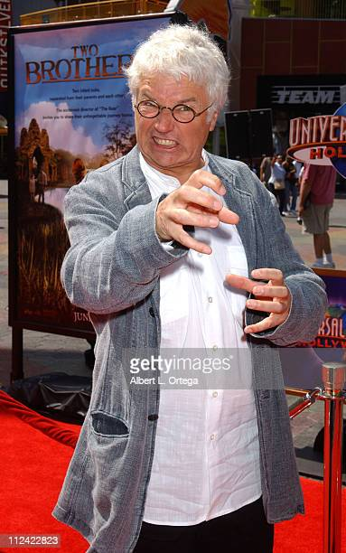 JeanJacques Annaud director during 'Two Brothers' World Premiere Arrivals at Universal Studios Cinemas in Universal City California United States