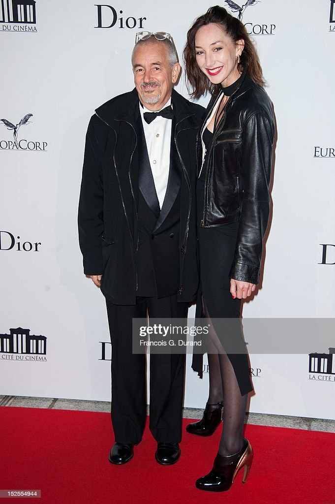 Jean-Jacques Beineix and wife Emilie attend 'La Cite Du Cinema' Launch on September 21, 2012 in Saint-Denis, France.