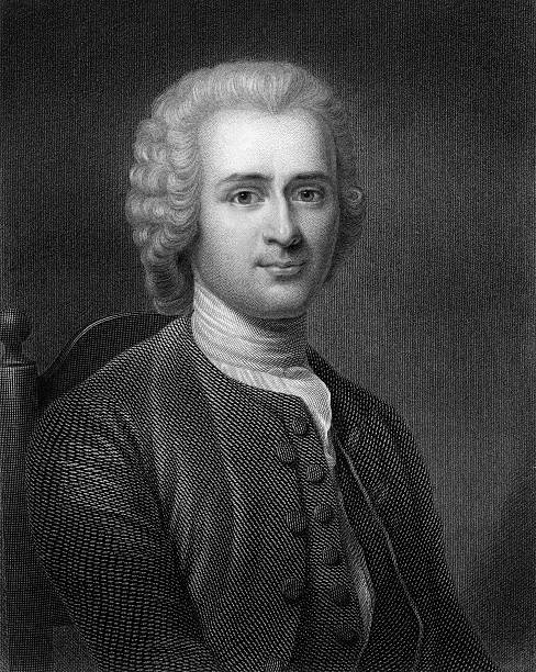 Jean-Jacques Rousseau, 18th century French political ...