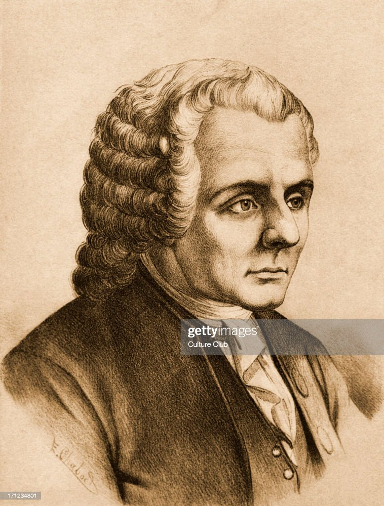 An analysis of the ideas by jean jacques rousseau a french philosopher and author
