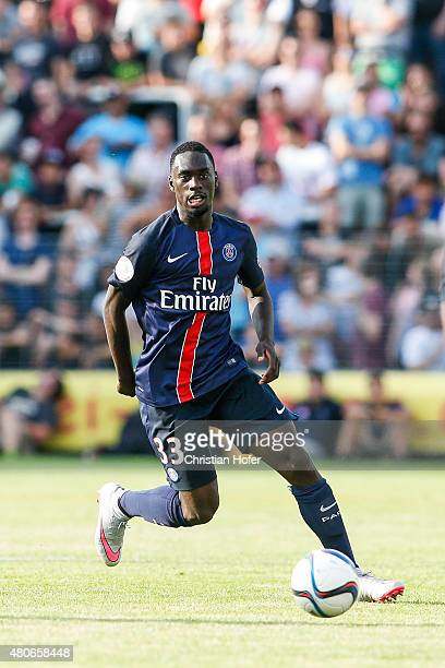 JeanKevin Augustin of Paris SaintGermain controls the ball during the Friendly Match between Wiener Sportklub and Paris SaintGermain at Sportclub...
