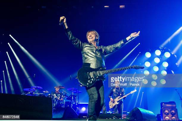 JeanLouis Aubert from Les Insus performs at Stade de France on September 16 2017 in Paris France