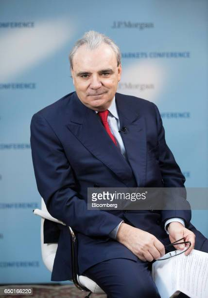 JeanLouis Chaussade chief executive officer of Suez SA pauses ahead of a Bloomberg Television interview in Paris France on Thursday March 9 2017 Suez...