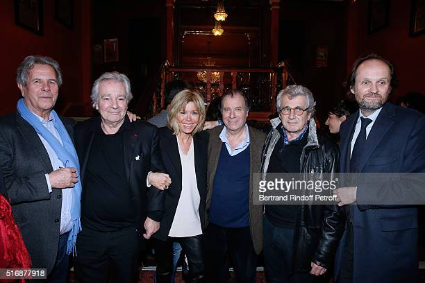 JeanLouis Debre Actor of the Piece Pierre Arditi Miss Emmanuel Macron Actor of the Piece Daniel Russo Michel Boujenah and Coowner of the Theater...