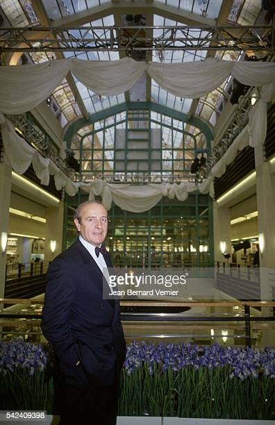 JeanLouis Petriat CEO of Fnac appears at the opening of the new Fnac Etoile store in Paris France Fnac distributes cultural goods such as compact...