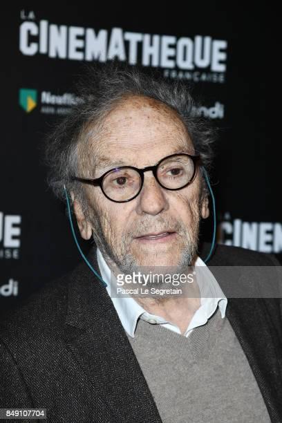JeanLouis Trintignant attends the 'Happy End' Paris Premiere at la cinematheque on September 18 2017 in Paris France