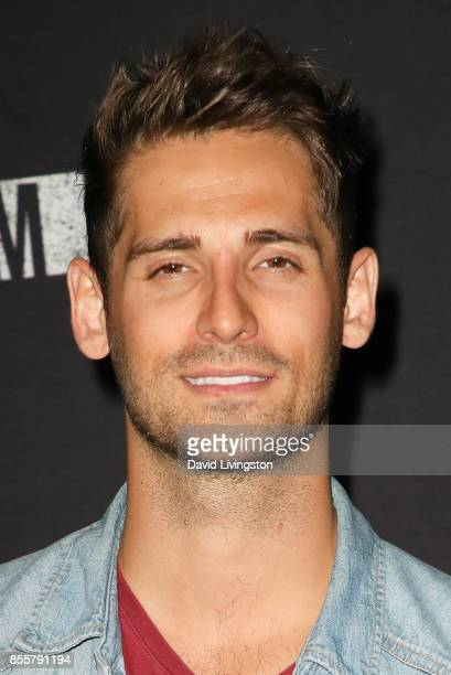 JeanLuc Bilodeau attends the Knott's Scary Farm and Instagram's Celebrity Night at Knott's Berry Farm on September 29 2017 in Buena Park California