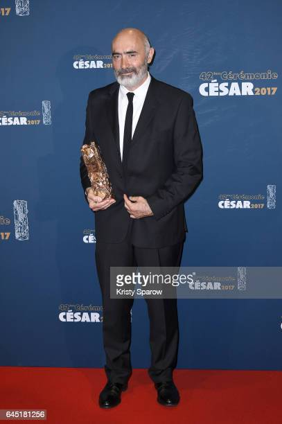 JeanLuc Gaget attends the Cesar Film Awards 2017 at Salle Pleyel on February 24 2017 in Paris France